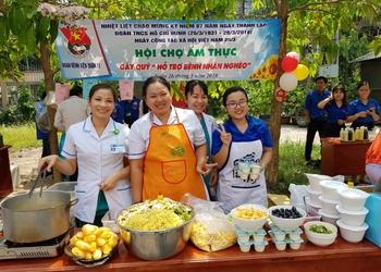 """Ngày Hội ẩm thực quyên góp gây quỹ """"Hỗ trợ bệnh nhân nghèo"""""""