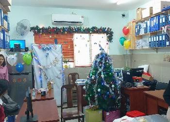Góc giáng sinh ở Bệnh viện quận 11