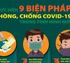 Thực hiện 9 biện pháp phòng, chống COVID-19 trong tình hình mới
