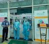 """Hình ảnh """"Buồng Cấp cứu sàng lọc COVID-19"""" tại Bệnh viện Nhi Đồng Thành phố"""
