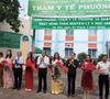 Quận Gò Vấp chính thức ra mắt trạm y tế điểm thứ hai hoạt động theo nguyên lý Y học gia đình