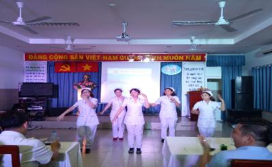Bệnh viện Quận 11 Tổ chức hội diễn văn nghệ chào mừng ngày thầy thuốc Việt Nam 27/02.