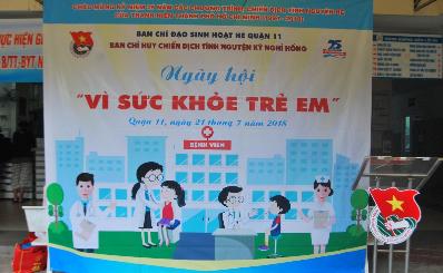 Ngày hội vì sức khỏe trẻ em 2018