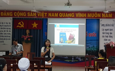 Công đoàn Bệnh viện Quận 11 tổ chức họp mặt kỷ niệm 89 năm Ngày thành lập Hội Liên hiệp phụ nữ Việt Nam (20/10/1930 - 20/10/2019) và kỷ niệm 09 năm phụ nữ Việt Nam 20/10/2019