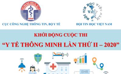 """Cuộc thi """"Y tế thông minh lần thứ II – năm 2020"""" - Gia hạn nộp hồ sơ"""