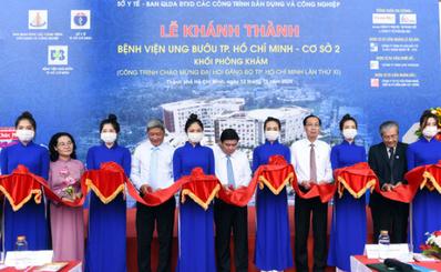 Khánh thành Bệnh viện Ung bướu cơ sở 2 với 1.000 giường bệnh