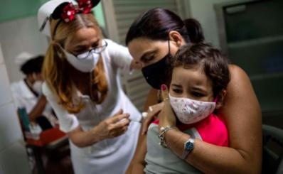 Vắc xin cho trẻ từ 2 tuổi của Cuba đạt hiệu quả trên 90%