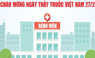 Chào mừng ngày Thầy Thuốc Việt Nam 27-02