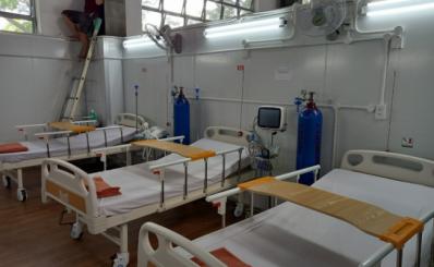 Bệnh viện dã chiến số 16 hoạt động sau 20 ngày xây dựng