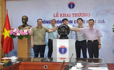 Lễ khai trương Cổng thông tin Công khai giá Trang thiết bị y tế