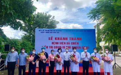 Khánh thành Bệnh viện dã chiến điều trị covid-19 Phú Nhuận Số 01