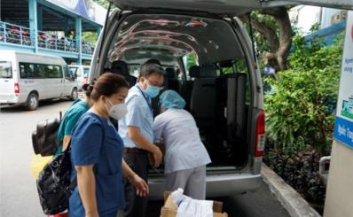 Bệnh viện Nhân dân Gia định tham gia công tác tiêm vắc xin phòng covid-19 đợt 5