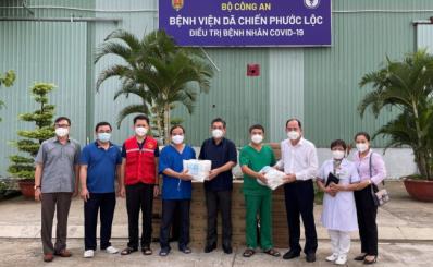 Bệnh viện dã chiến Phước Lộc hỗ trợ bệnh viện huyện Nhà Bè