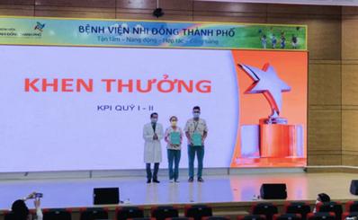 Bệnh viện Nhi Đồng Thành Phố chính thức triển khai chỉ số đo lường hiệu quả công việc (KPI)