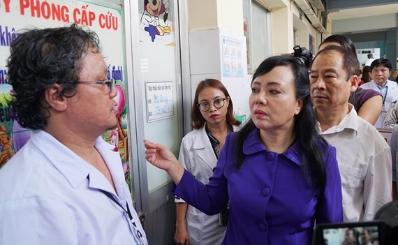 TPHCM: 97% bệnh nhân mắc sởi trên 9 tháng tuổi không được tiêm chủng