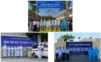 Sẵn sàng các bệnh viện chuyên tiếp nhận điều trị COVID-19