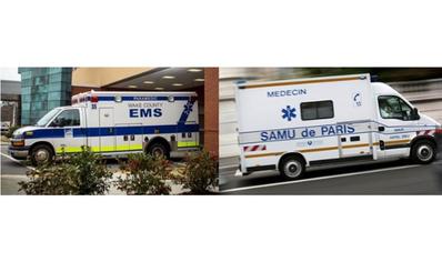 """Sử dụng cả 2 mô hình """"Anglo-American"""" và """"Franco-German"""" và hợp nhất xe cứu thương dưới sự điều phối chung"""