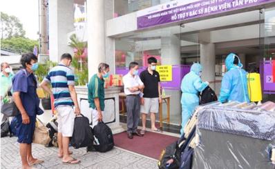 Hội Doanh nhân trẻ Việt Nam, Tập đoàn TTC và Sacombank đồng hành cùng các y, bác sĩ của BV quận Tân Phú