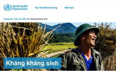 WHO cảnh báo tình trạng kháng kháng sinh ở Việt Nam