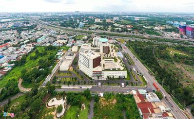 Bệnh viện ở TP.HCM có sân đỗ trực thăng