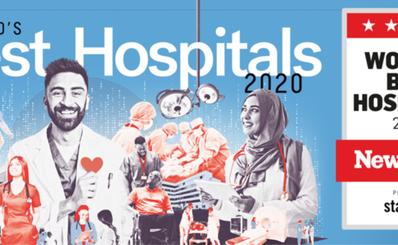Top 100 bệnh viện tốt nhất thế giới của năm 2020