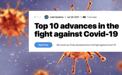 """""""Top 10"""" tiến bộ hàng đầu trong cuộc chiến chống lại Covid-19"""