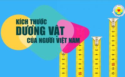 Kích thước dương vật của người Việt Nam