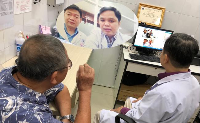 Ứng dụng teleconsultation để kết nối bác sĩ chăm sóc ban đầu tại trạm y tế với các bác sĩ chuyên khoa tại các bệnh viện tuyến cuối